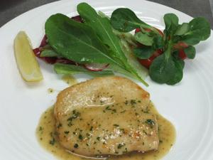 鶏ムネ肉のエスカロップ