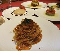 イタリアンフルコース(小さなお宿特集)