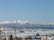 十勝岳連峰遠景