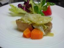 豚バラ肉の白ワイン煮