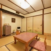 *【和室6畳】一人旅やカップルに◎しっとり落ち着いた和室で寛ぎのひと時をお過ごし下さい。
