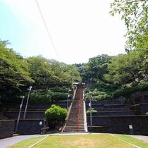 日奈久温泉神社:600年前孝行息子がお告げを受けて発見したという日奈久温泉。その神様を祭る神社。
