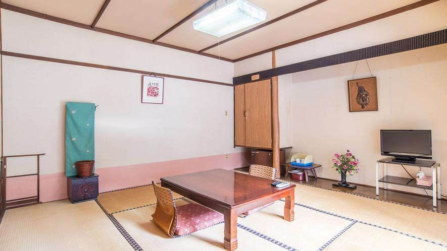 *【和室一例バス・トイレ付】お部屋でほのかに薫る畳の香りもお楽しみください。