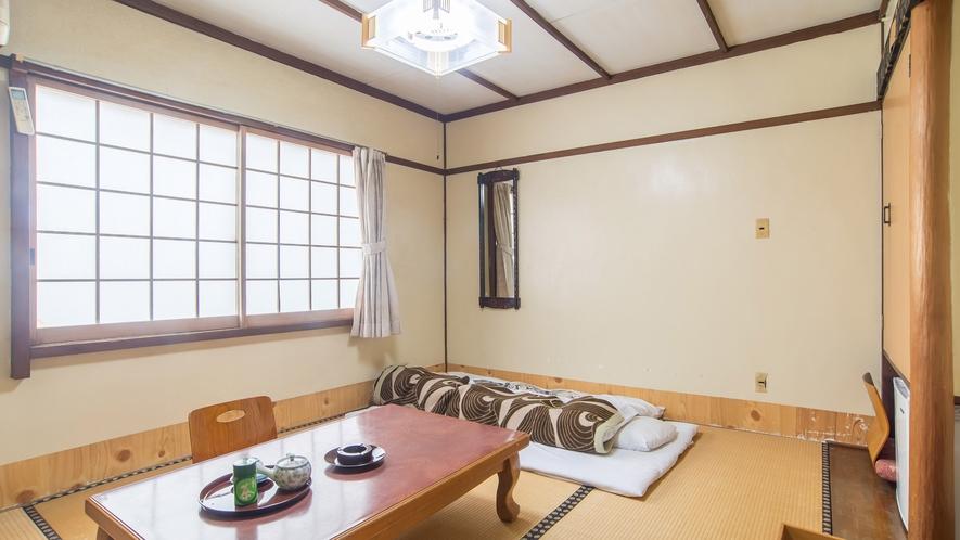 *【和室6畳】お一人様やカップルに最適の広さになります。