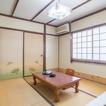 *【和室6畳】こじんまりとした空間で、お一人様でも安心してご利用いただけます。