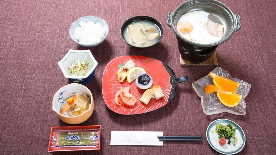 *【朝食一例】素敵な旅のはじまりは、おいしい朝食から♪