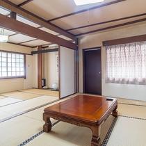 *【和室一例バス・トイレ付】広々とした空間で、合宿利用に最適♪