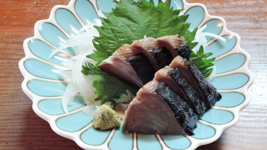 *夕食一例(お刺身)