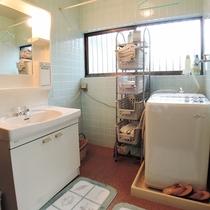 館内の洗面台