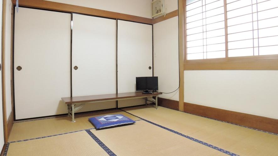 *和室6畳のお部屋<バストイレ共同>