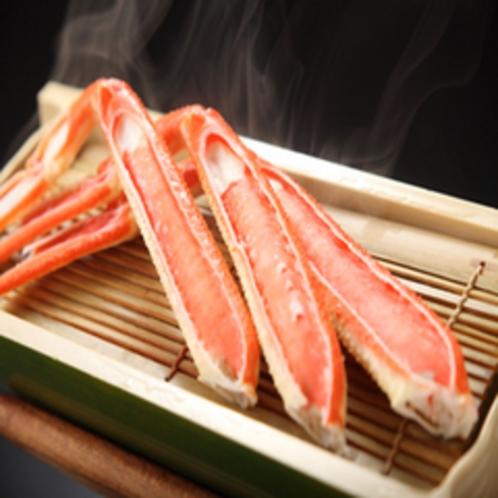 海鮮蒸し(かに)