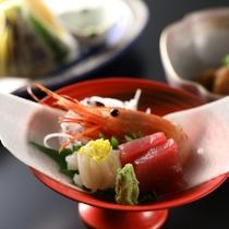 ◇夕食の一例 お刺身