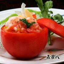 トマト釜のマリネ