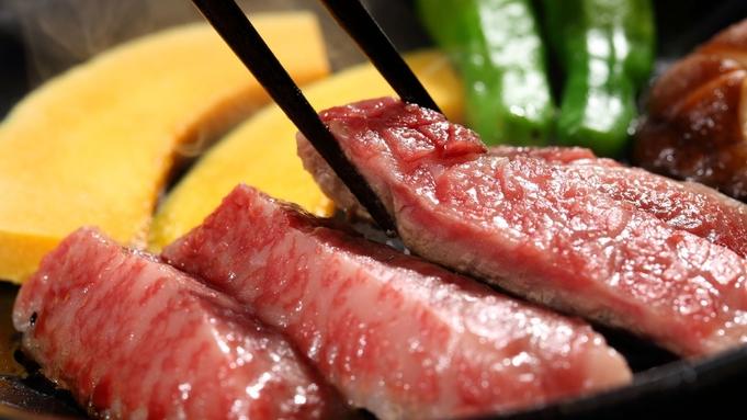 【千樹館ステーキ付プラン】牛すき焼きに牛陶板ステーキも楽しめる!上州郷土の味覚堪能
