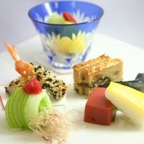 ご夕食一例≪前菜≫