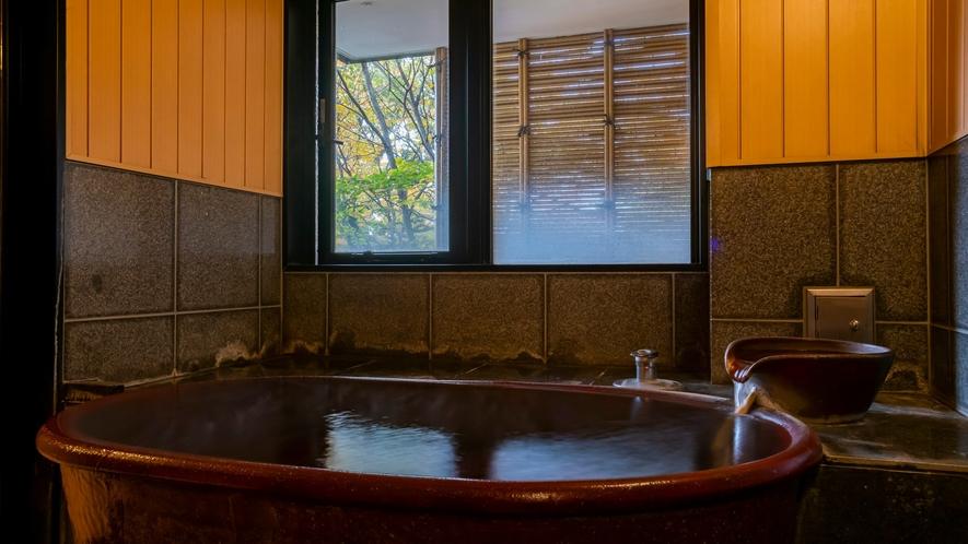 3つの貸切風呂は何れもゆったり湯上りもあり快適にご利用頂けます