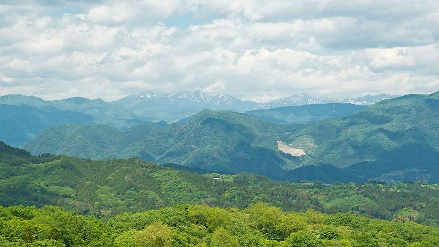 高層階からは伊香保の自然豊かな景色をご覧いただけます