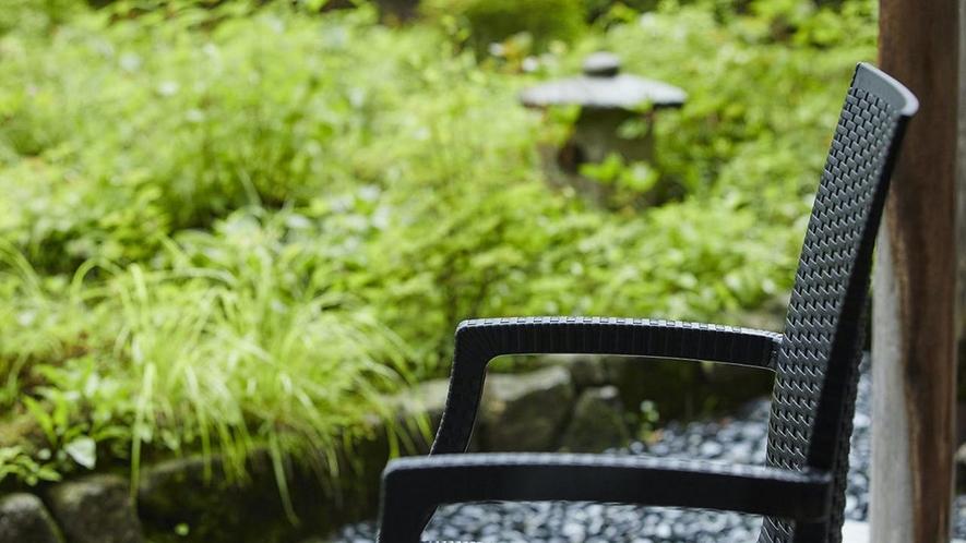 庭園付き客室 滞在イメージ