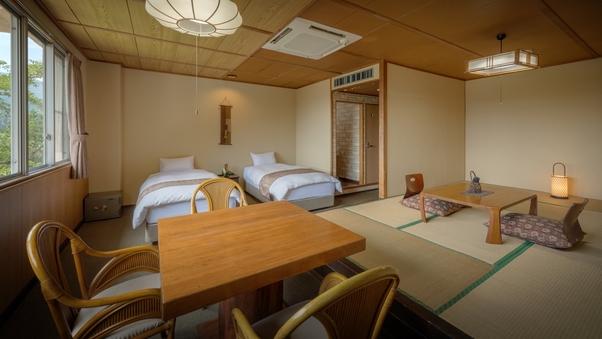 乙女館(和室8畳+ツインベッド)