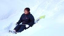 大人からお子様まで楽しめるこの時期しかできない雪遊び!