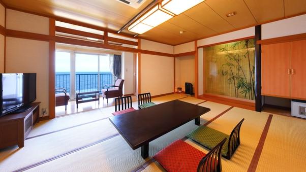 別府湾を見渡せる【海側】の和室!10畳〜15畳