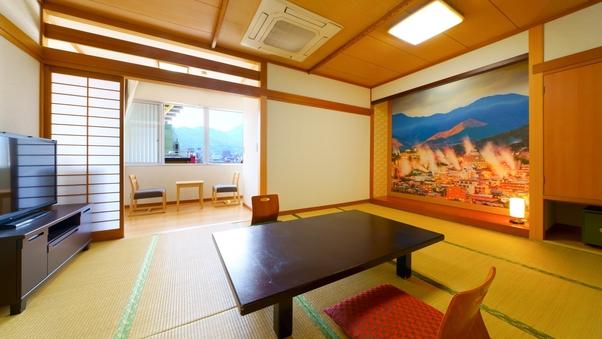 別府中心街の風景【街側】の和室!8畳〜10畳