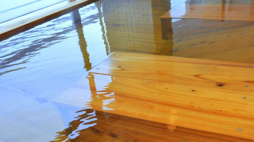 檜の香る別府湾一望の大浴場がリニューアル!