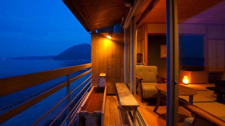 【最上階足湯付】別府湾を眺め静粛で心休まる本物の贅沢な一時を