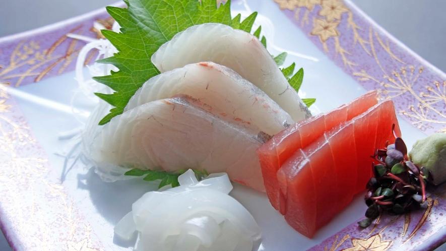 夕食一例 お刺身