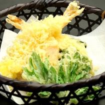 夕食単品 天ぷら
