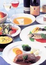 欧風家庭料理コース一例