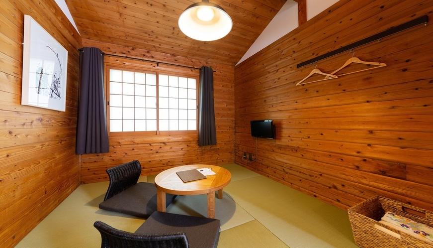 【14.5帖和洋室ツイン】和室スペース