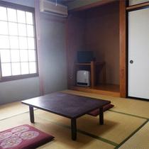 *客室一例/のどかな田園風景の中にある和室タイプのお部屋。ファミリー、カップル、一人旅も歓迎!