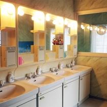 *洗面所/お部屋に洗面は付いておりませんので、こちらをご利用ください。