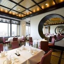 ◇中国料理「ジャスミンガーデン」の店内