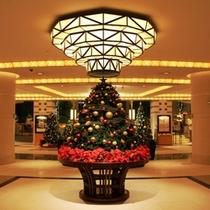 ◆冬/帝国ホテル大阪はクリスマス装飾に包まれます。