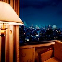 ★特別階からの大阪市街の夜景イメージ