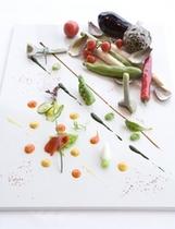 フランス料理「レ セゾン」の料理(イメージ)