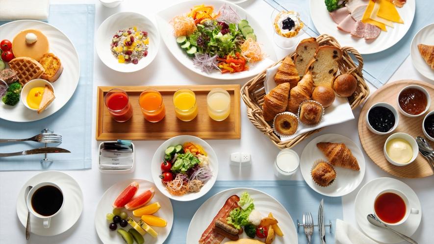 カフェ クベール 朝食ブフェ