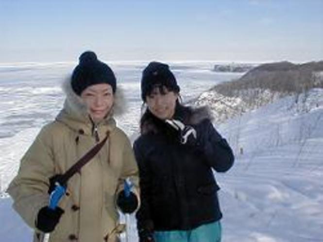 流氷大冒険クロカンと能取岬