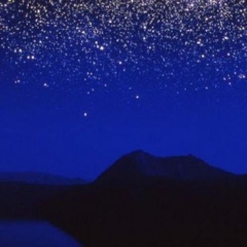 摩周湖の星空