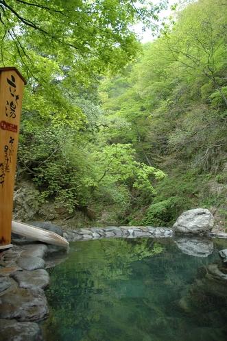 広瀬川源流露天風呂‗立ち湯