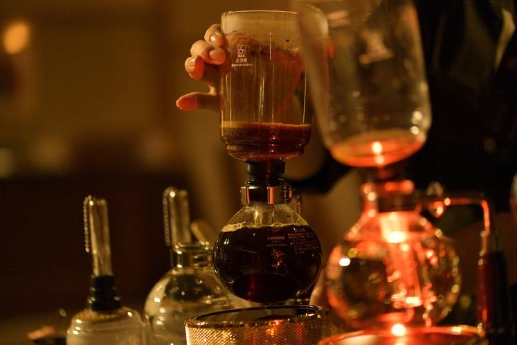 COFFEE LIVE_サイフォンコーヒー