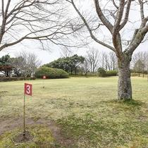 *【グランドゴルフ】みなさんでプレイ!思い出つくりにもぴったりです。(有料)