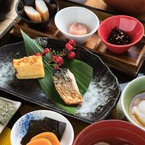 *【朝食一例】和定食をご用意いたします。