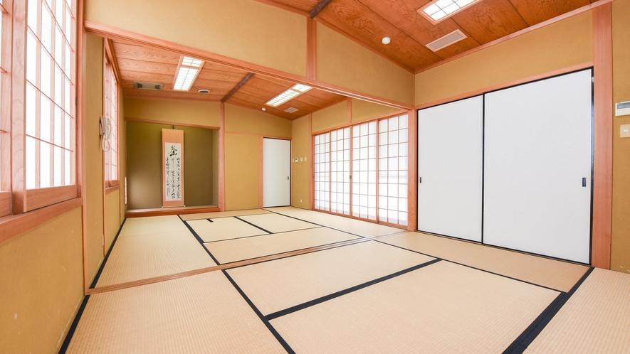 *【茶室】館内にある茶寿庵の様子。