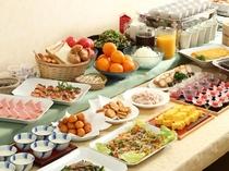 【朝食バイキング】一日の元気をチャージ!