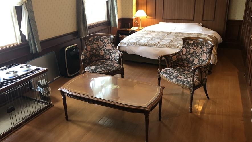 【部屋】ペットとお泊りルーム ダブル