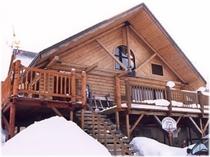 真冬のパインハウス