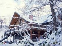クリスマス頃のパインハウス